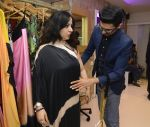Actor Sudhanshu Pandey_s wife Mona gets a makeover from the designers at Shivan N Naresh fashion preview in Primme Up Fashion store on 11th Spt 2016_57d6460d7e012.JPG