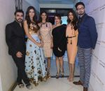 Designers Shivan N Naresh, Pooja Kumar and Miss India_s Pankhuri Gidwani, Priyadarshni Chaterjee and  Sushruti Krishna at Shivan N Naresh fashion preview in Primme Up Fashion store on 11th Spt 2016_57d645bec50b7.JPG