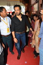 Emraan Hashmi visited Mumbai Cha Raja Ganesh Galli on 11th Sept 2016 (30)_57d64dd5b0b3f.JPG
