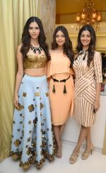 Miss India_s Pankhuri Gidwani, Priyadarshni Chaterjee and  Sushruti Krishna at Shivan N Naresh fashion preview in Primme Up Fashion store on 11th Spt 2016_57d645c749767.JPG