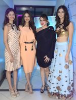 Sushhruthi Krishna,Priyadarshni Chaterjee, Priya Kumar and Pankhuri Gidwani at Shivan N Naresh fashion preview in Primme Up Fashion store on 11th Spt 2016_57d645ce5be36.JPG