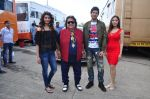 Daisy Shah, Bappi Lahiri, Rishi Bhutani, Angela Krislinzki on location of film Ramratan on 12th Sept 2016 (1)_57d7a16cf14b4.JPG