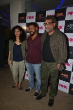 Gauri Shinde, R Balki at Pink Screening in Sunny Super Sound on 12th Sept 2016 (13)_57d7a98c2c929.JPG