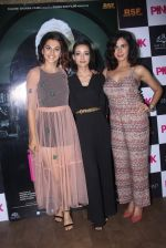 Kirti Kulhari, Taapsee Pannu, Andrea Tariang at Pink Screening in Lightbox on 12th Sept 2016 (81)_57d7e683d58b0.JPG
