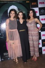 Kirti Kulhari, Taapsee Pannu, Andrea Tariang at Pink Screening in Lightbox on 12th Sept 2016 (82)_57d7e57a0b784.JPG