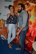 Ritesh Deshmukh and Nargis Fakhri promote their movie Banjo at BIG FM on 12th Sept 2016 (22)_57d76da3d5533.JPG