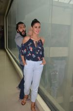 Ritesh Deshmukh and Nargis Fakhri promote their movie Banjo at BIG FM on 12th Sept 2016 (52)_57d76da520caf.JPG
