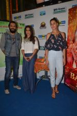 Ritesh Deshmukh, Nargis Fakhri, Krishika Lulla promote their movie Banjo at BIG FM on 12th Sept 2016 (9)_57d76dae54de2.JPG