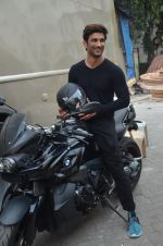 Sushant Singh Rajput snapped promoting M.S. Dhoni - The Untold Story on 13th Sept 2016 (41)_57d8fa454b4c6.JPG