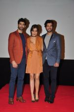 Aashim Gulati, Neha Sharma, Aditya Seal at the Audio release of Tum Bin 2 on 14th Sept 2016 (86)_57da43a5d8d84.JPG