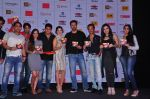 Rajeev Chaudhari, Sunny Leone, Rajneesh Duggal, Raghav Sachar at the Audio release of Beiimaan Love on 14th Sept 2016 (300)_57da416008538.JPG