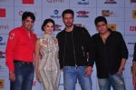 Rajeev Chaudhari, Sunny Leone, Rajneesh Duggal at the Audio release of Beiimaan Love on 14th Sept 2016 (297)_57da4251ce9d2.JPG