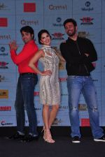 Sunny Leone, Rajneesh Duggal at the Audio release of Beiimaan Love on 14th Sept 2016 (299)_57da42684a92c.JPG