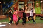 Riteish Deshmukh, Nargis Fakhri and Dharmesh Yelande on the sets of The Kapil Sharma Show on 15th Sept 2016 (19)_57db93a163cc5.jpg