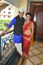 Shreyas Talpade & Manjari Fadnis promote Wah Taj on 14th Sept 2016 (3)_57db9037383a0.JPG