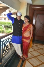 Shreyas Talpade & Manjari Fadnis promote Wah Taj on 14th Sept 2016 (4)_57db903826950.JPG