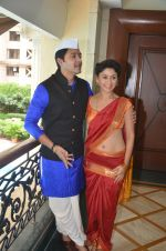 Shreyas Talpade & Manjari Fadnis promote Wah Taj on 14th Sept 2016 (2)_57db9000302bf.JPG