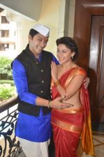 Shreyas Talpade & Manjari Fadnis promote Wah Taj on 14th Sept 2016 (7)_57db900220477.JPG
