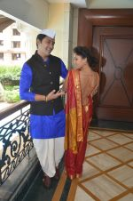 Shreyas Talpade & Manjari Fadnis promote Wah Taj on 14th Sept 2016 (9)_57db9002e0f25.JPG