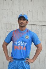 Sushant Singh Rajput snapped at the promotion of film M S Dhoni on 14th Sept 2016 (21)_57db8fd66fda4.JPG