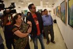 Abhay Deol at Manjula Chaturvedi art exhibition on 20th Sept 2016 (7)_57e22d2a37400.JPG