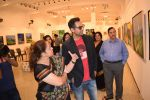 Abhay Deol at Manjula Chaturvedi art exhibition on 20th Sept 2016 (8)_57e22d2be72fb.JPG