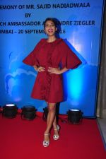 Jacqueline Fernandez at the launch of Sajid Nadiadwala_s france honours on 20th Sept 2016 (113)_57e237f1b8baf.JPG