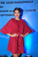 Jacqueline Fernandez at the launch of Sajid Nadiadwala_s france honours on 20th Sept 2016 (117)_57e237f5053ee.JPG
