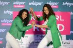 Sonakshi Sinha and Sakshi Malik at Whisper new campaign launch on 20th Sept 2016 (105)_57e22fd6d9dce.JPG