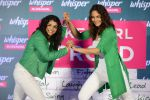 Sonakshi Sinha and Sakshi Malik at Whisper new campaign launch on 20th Sept 2016 (106)_57e230334f6d4.JPG