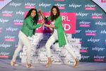 Sonakshi Sinha and Sakshi Malik at Whisper new campaign launch on 20th Sept 2016 (107)_57e22fd83d6f2.JPG