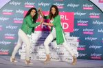 Sonakshi Sinha and Sakshi Malik at Whisper new campaign launch on 20th Sept 2016 (108)_57e23034996de.JPG