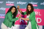 Sonakshi Sinha and Sakshi Malik at Whisper new campaign launch on 20th Sept 2016 (110)_57e230363785f.JPG