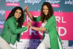 Sonakshi Sinha and Sakshi Malik at Whisper new campaign launch on 20th Sept 2016 (56)_57e22fc52248e.JPG