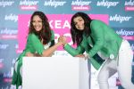 Sonakshi Sinha and Sakshi Malik at Whisper new campaign launch on 20th Sept 2016 (71)_57e22fcc9557f.JPG