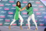 Sonakshi Sinha and Sakshi Malik at Whisper new campaign launch on 20th Sept 2016 (78)_57e22fd1e7949.JPG