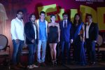 Sunny Leone, Sharman Joshi, Pawan Kumar Sharma, Gandharv Sachdev, Pradeep Gupta and Ma at the launch of film Fuddu song, Tu Zaroorat Nahi Tu Zaroori Hai on 20th Sept 2016 (51)_57e23c35c2788.JPG