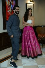 Harshvardhan Kapoor, Saiyami Kher at Mirzya press conference in delhi on n26th Sept 2016 (107)_57ea9b48f04ca.jpg