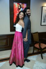Harshvardhan Kapoor, Saiyami Kher at Mirzya press conference in delhi on n26th Sept 2016 (108)_57ea9baf9016c.jpg