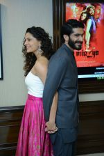 Harshvardhan Kapoor, Saiyami Kher at Mirzya press conference in delhi on n26th Sept 2016 (109)_57ea9b49a5fa3.jpg