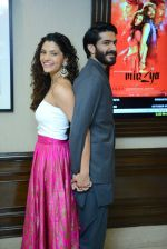 Harshvardhan Kapoor, Saiyami Kher at Mirzya press conference in delhi on n26th Sept 2016 (110)_57ea9bb06ec18.jpg