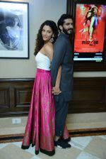 Harshvardhan Kapoor, Saiyami Kher at Mirzya press conference in delhi on n26th Sept 2016 (111)_57ea9b4a61040.jpg