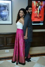 Harshvardhan Kapoor, Saiyami Kher at Mirzya press conference in delhi on n26th Sept 2016 (113)_57ea9b4b13843.jpg