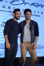 Mahendra Singh Dhoni, Sushant Singh Rajput at MS Dhoni press meet in Delhi on 27th Sept 2016 (48)_57ec0462da254.jpg