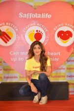 Shilpa Shetty during the World Heart Day program organized by Saffola Life in Mumbai on 28th Sept 2016 (17)_57ec04ee4aa62.JPG