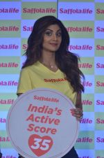 Shilpa Shetty during the World Heart Day program organized by Saffola Life in Mumbai on 28th Sept 2016 (45)_57ec04fd77676.JPG