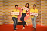 Shilpa Shetty, Kunal Kapur, Cyrus Sahukar during the World Heart Day program organized by Saffola Life in Mumbai on 28th Sept 2016 (66)_57ec0384e5d20.JPG
