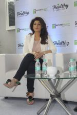 Twinkle Khanna during the launch of Godrej Nature_s Basket Healthy Alternatives products in Mumbai on 27th Sept 2016 (10)_57ec019aac514.JPG