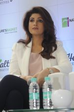 Twinkle Khanna during the launch of Godrej Nature_s Basket Healthy Alternatives products in Mumbai on 27th Sept 2016 (16)_57ec019d74c44.JPG