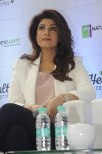 Twinkle Khanna during the launch of Godrej Nature_s Basket Healthy Alternatives products in Mumbai on 27th Sept 2016 (18)_57ec019e57d2a.JPG